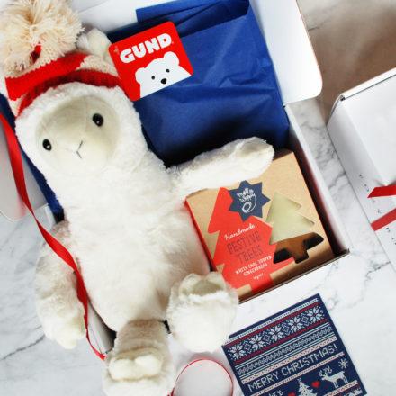 Christmas Llama & Cookies